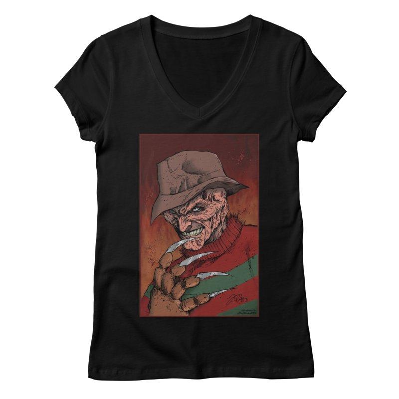 Freddy Krueger Women's  by EvoComicsInc's Artist Shop