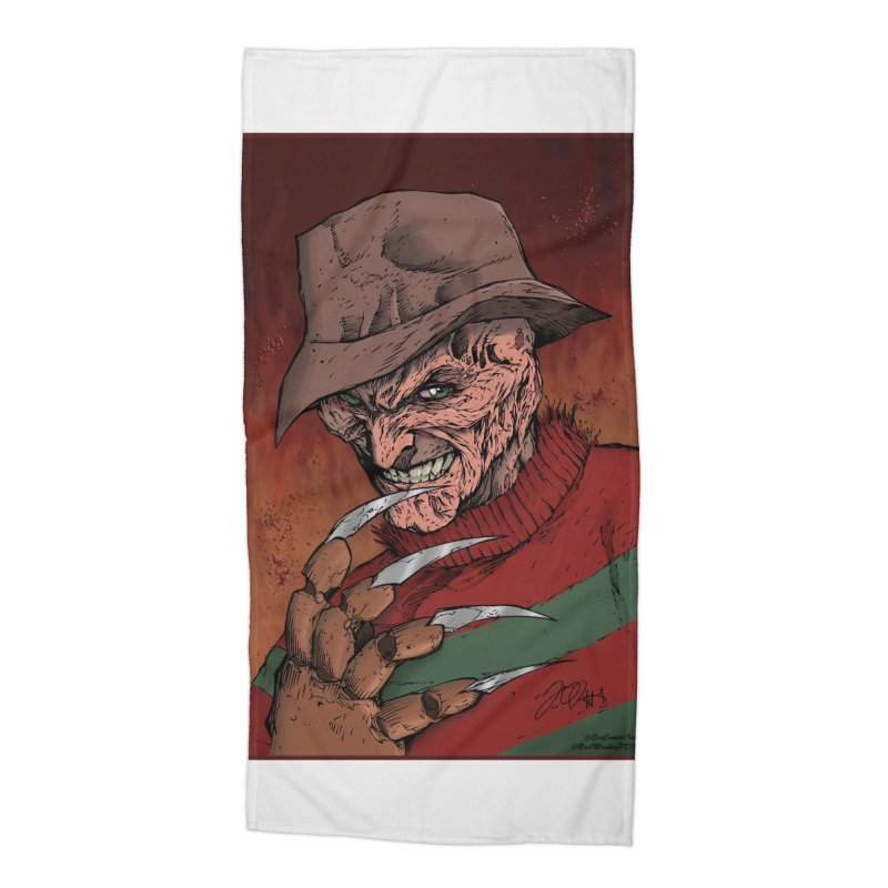 Freddy Krueger Accessories Beach Towel by EvoComicsInc's Artist Shop