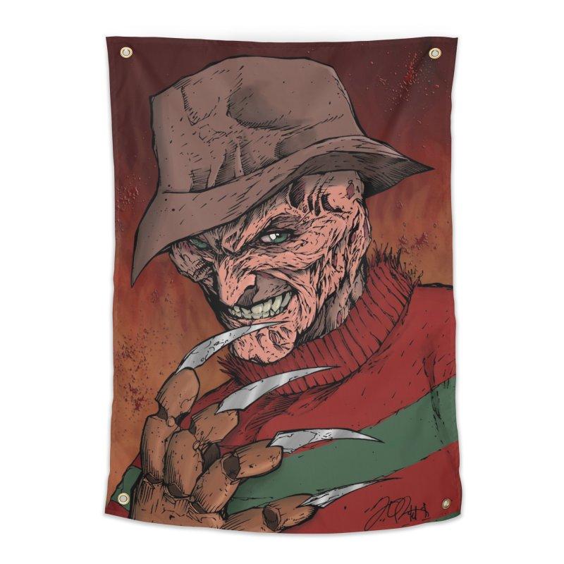 Freddy Krueger Home Tapestry by EvoComicsInc's Artist Shop