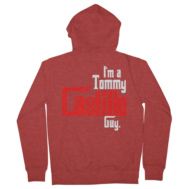 I'm a Tommy Guy Men's French Terry Zip-Up Hoody by EvoComicsInc's Artist Shop