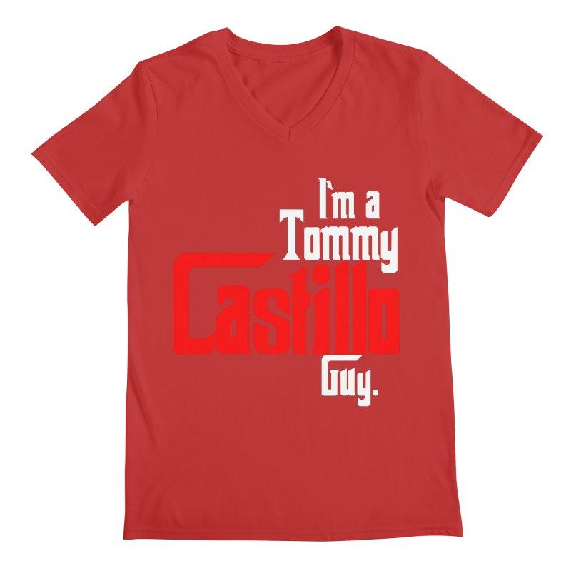 I'm a Tommy Guy Men's Regular V-Neck by EvoComicsInc's Artist Shop