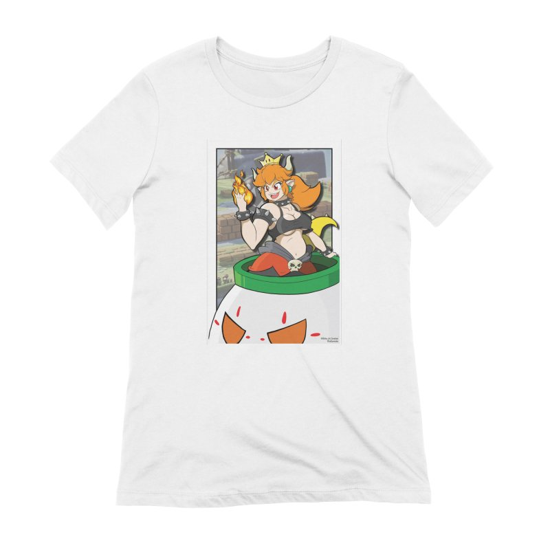 Bowsette Women's Extra Soft T-Shirt by EvoComicsInc's Artist Shop
