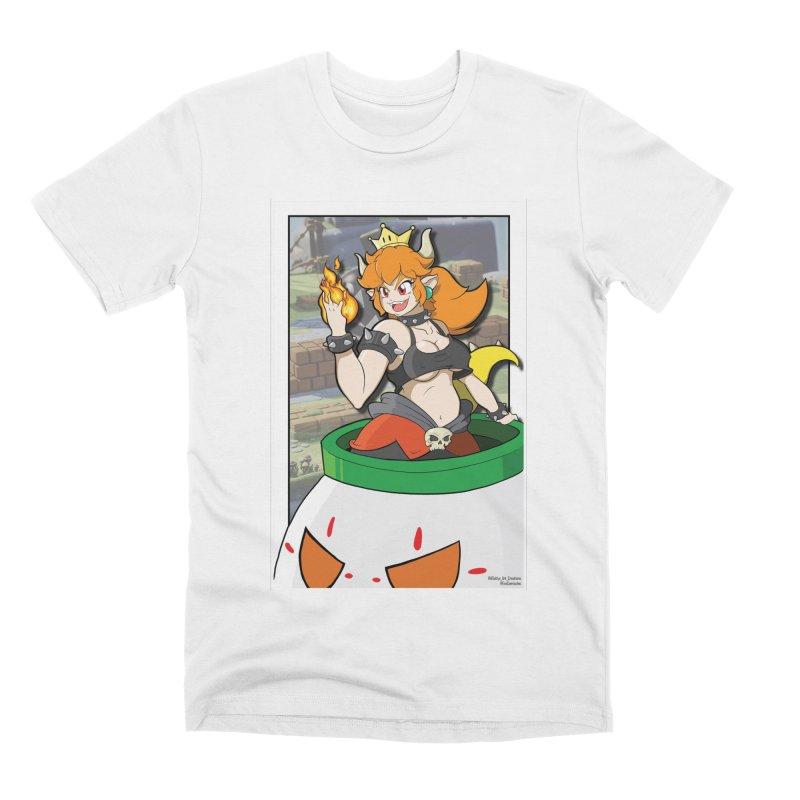 Bowsette Men's Premium T-Shirt by EvoComicsInc's Artist Shop