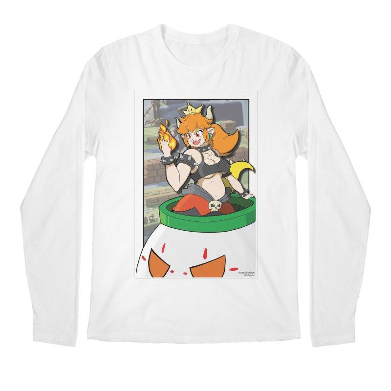 Bowsette Men's Regular Longsleeve T-Shirt by EvoComicsInc's Artist Shop