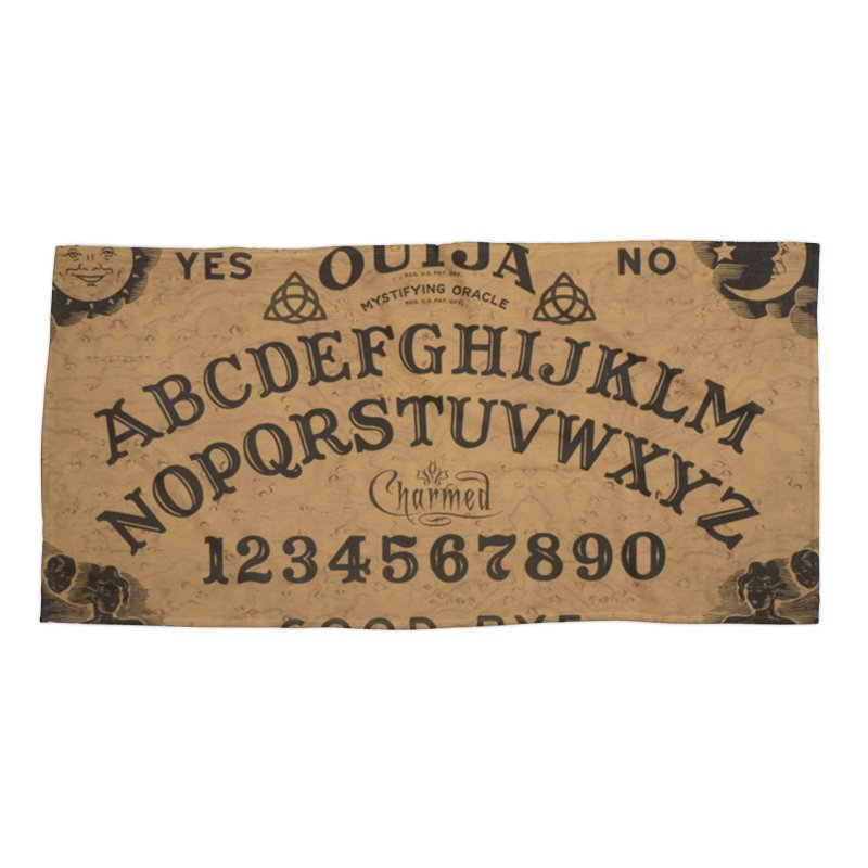 Charmed OUIJA Accessories Beach Towel by EvoComicsInc's Artist Shop