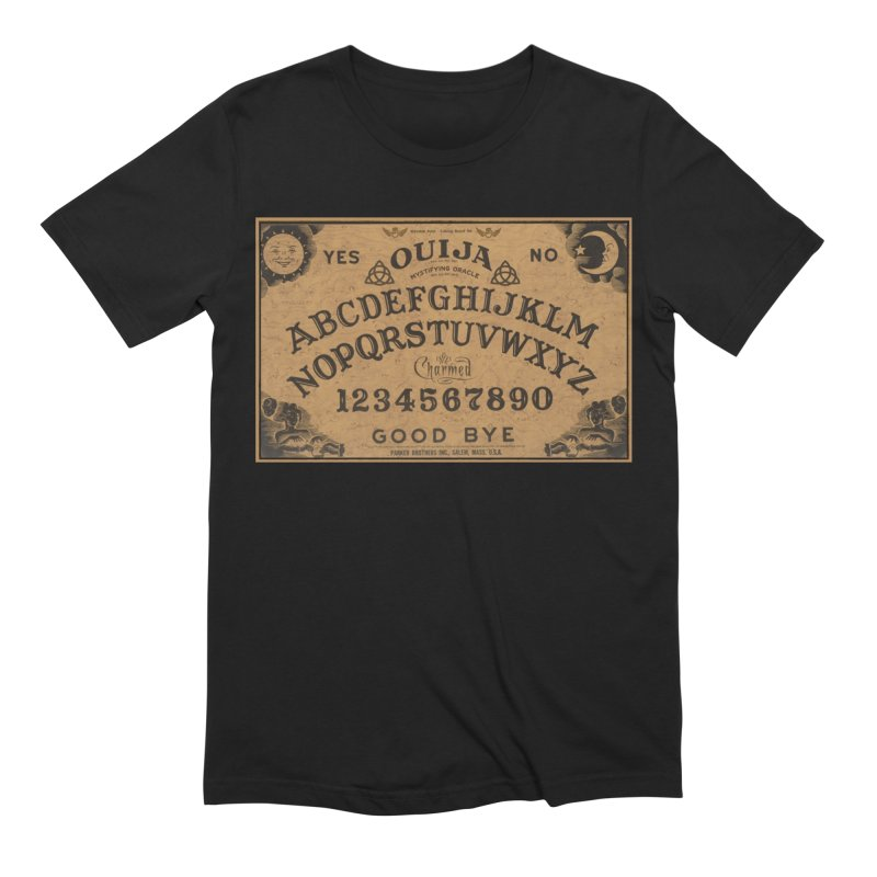 Charmed OUIJA Men's Extra Soft T-Shirt by EvoComicsInc's Artist Shop