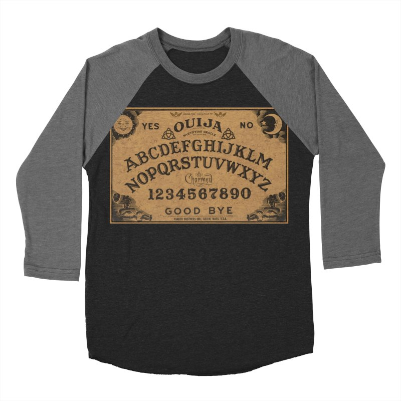 Charmed OUIJA Men's Baseball Triblend Longsleeve T-Shirt by EvoComicsInc's Artist Shop