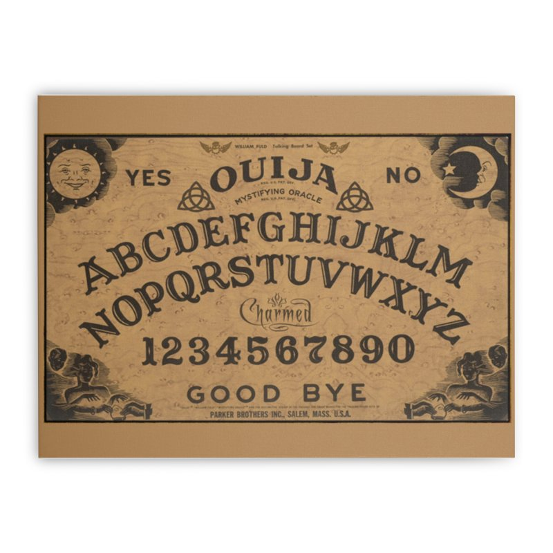 Charmed OUIJA Home Stretched Canvas by EvoComicsInc's Artist Shop
