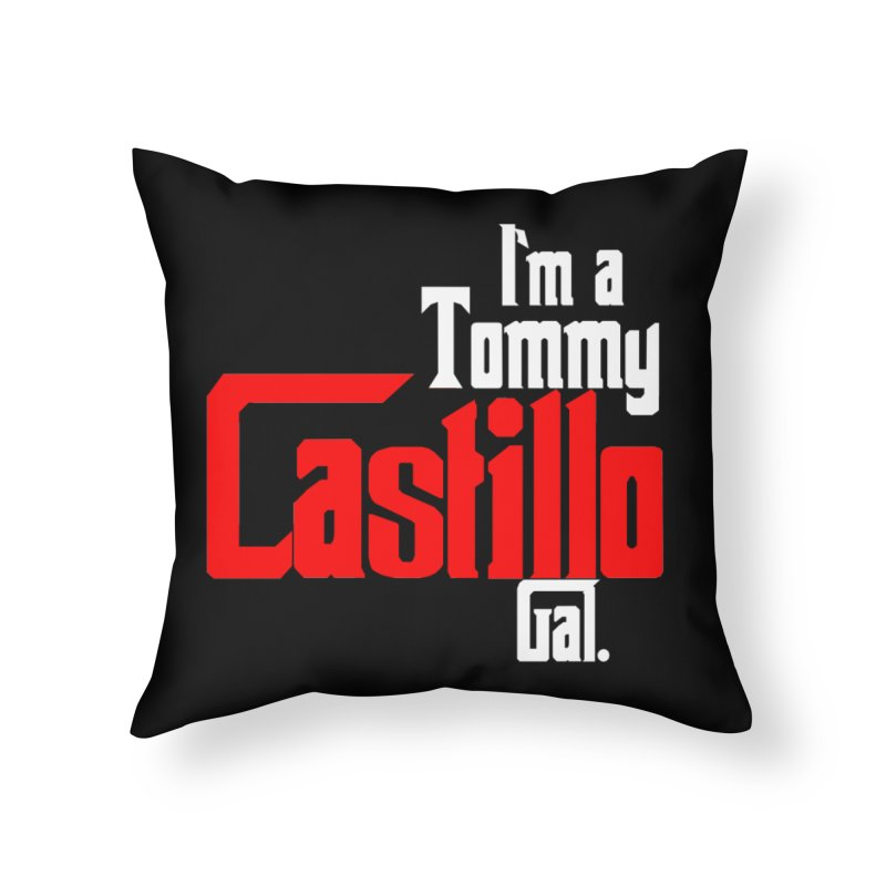 Tommy Gal Home Throw Pillow by EvoComicsInc's Artist Shop