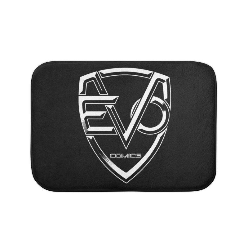 Evo Solid Logo Home Bath Mat by Evolution Comics INC