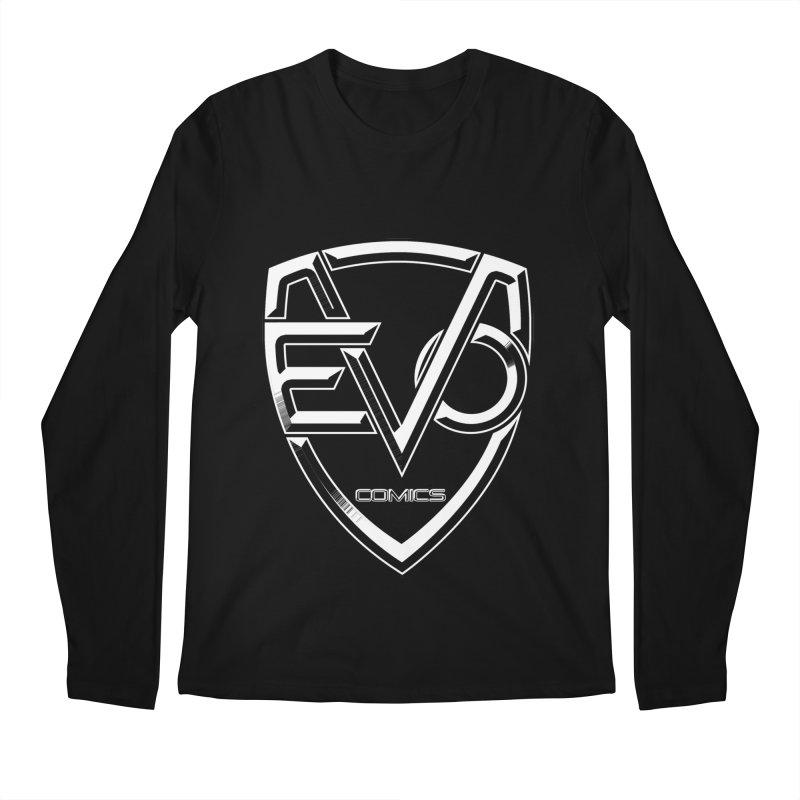 Evo Solid Logo Men's Regular Longsleeve T-Shirt by EvoComicsInc's Artist Shop