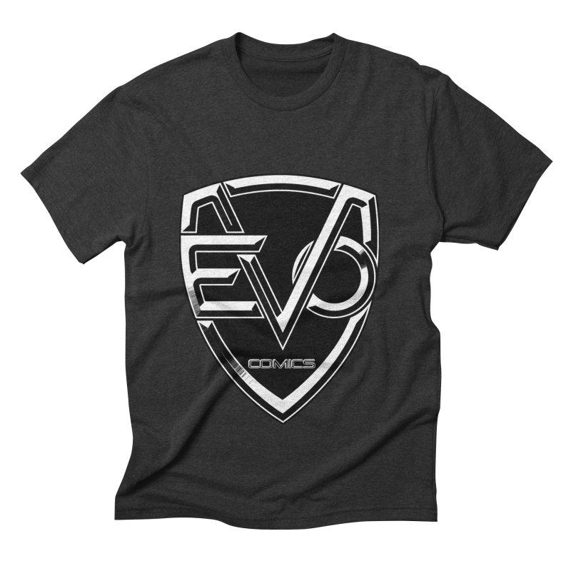 Evo Solid Logo Men's Triblend T-Shirt by EvoComicsInc's Artist Shop