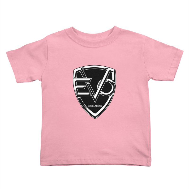 Evo Solid Logo Kids Toddler T-Shirt by EvoComicsInc's Artist Shop