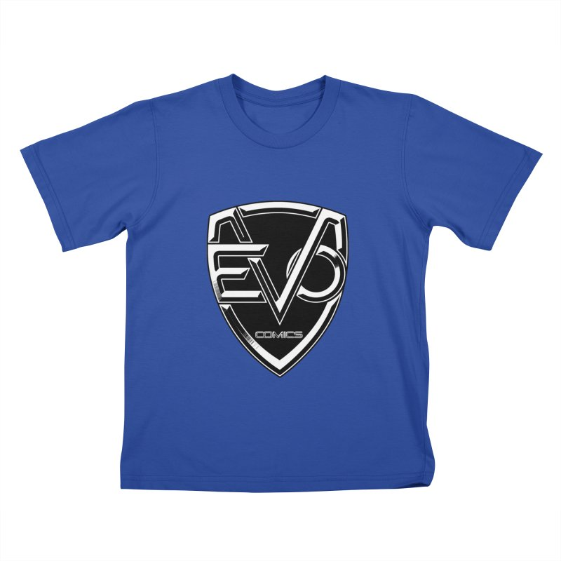 Evo Solid Logo Kids T-Shirt by Evolution Comics INC