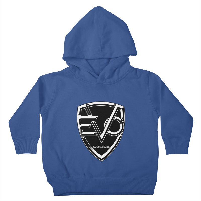 Evo Solid Logo Kids Toddler Pullover Hoody by Evolution Comics INC