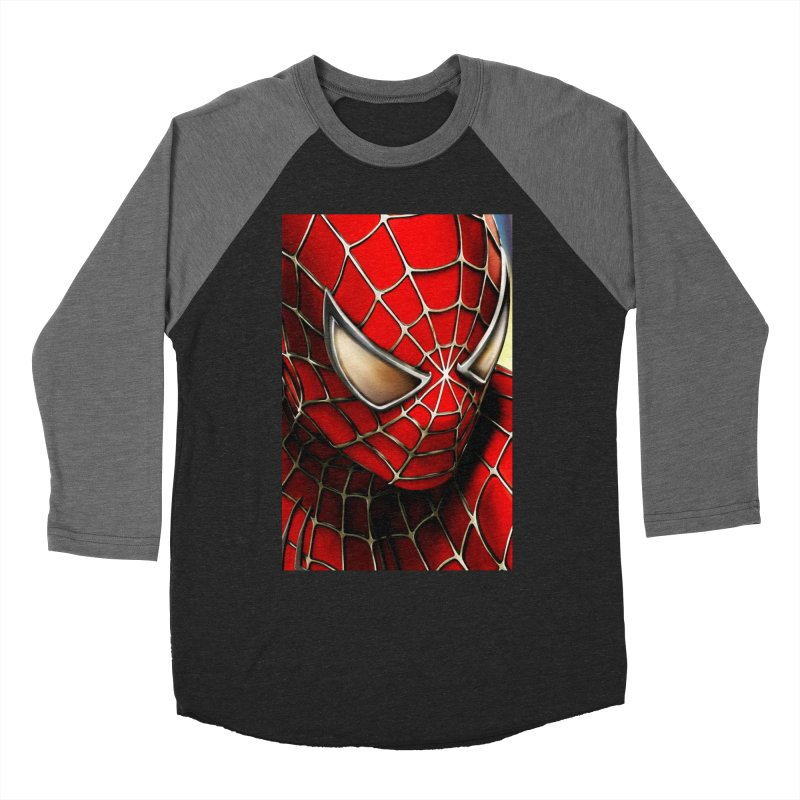 Spiderman Movie Poster Women's Longsleeve T-Shirt by Evolution Comics INC