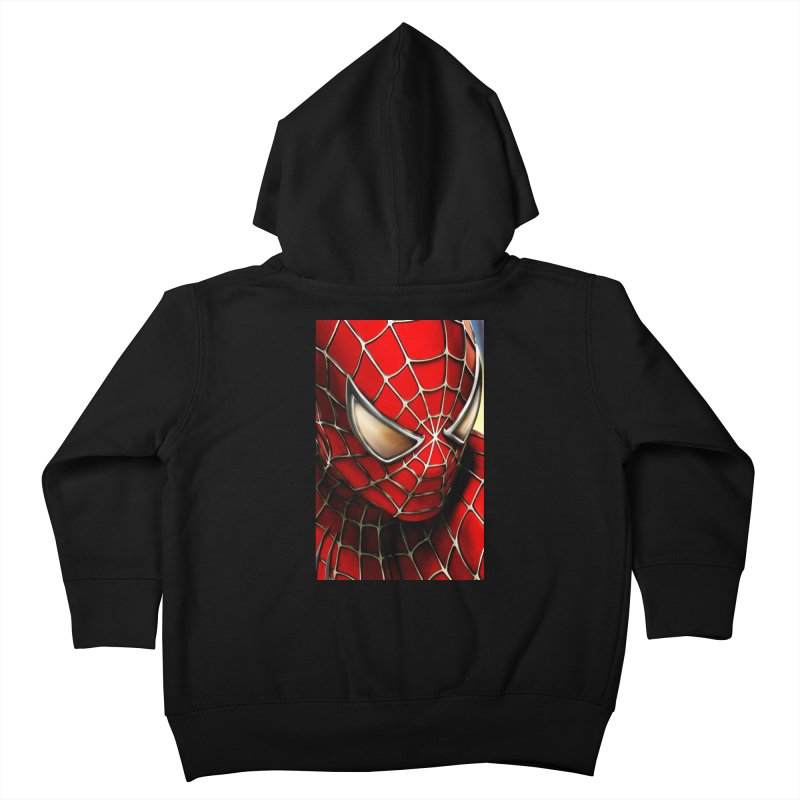 Spiderman Movie Poster Kids Toddler Zip-Up Hoody by Evolution Comics INC