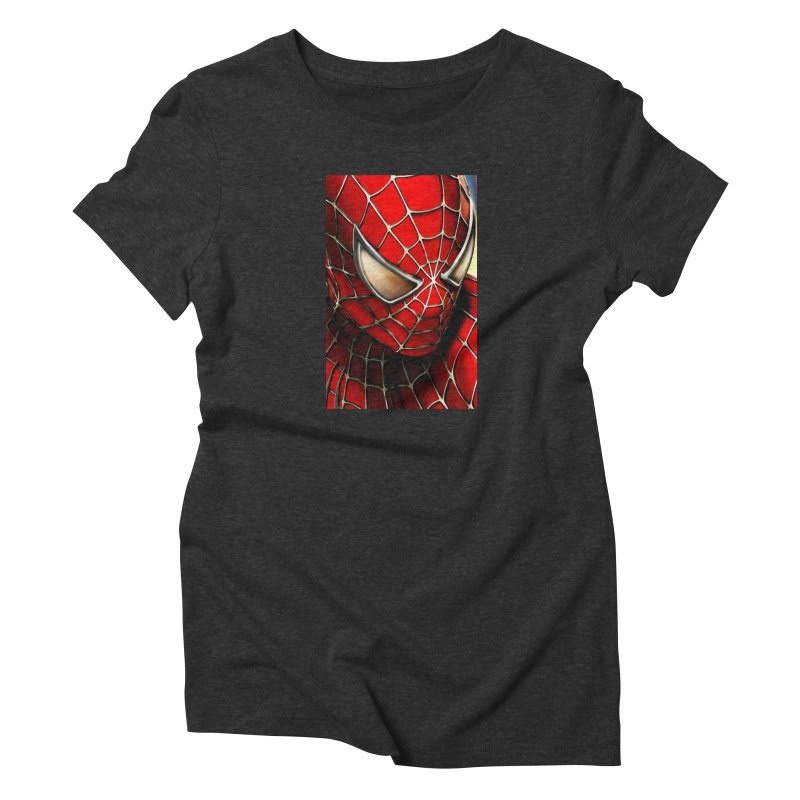 Spiderman Movie Poster Women's T-Shirt by Evolution Comics INC