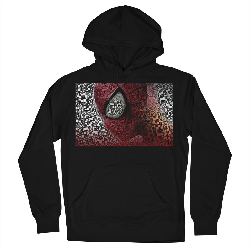 Spiderman Abstract Women's French Terry Pullover Hoody by EvoComicsInc's Artist Shop