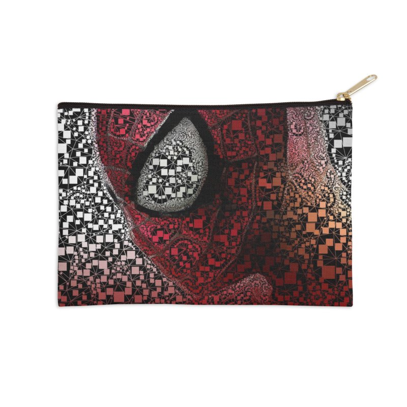 Spiderman Abstract Accessories Zip Pouch by Evolution Comics INC