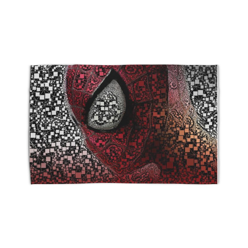 Spiderman Abstract Home Rug by Evolution Comics INC