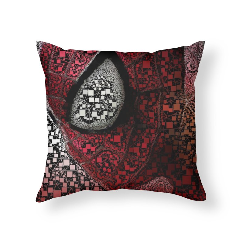 Spiderman Abstract Home Throw Pillow by EvoComicsInc's Artist Shop