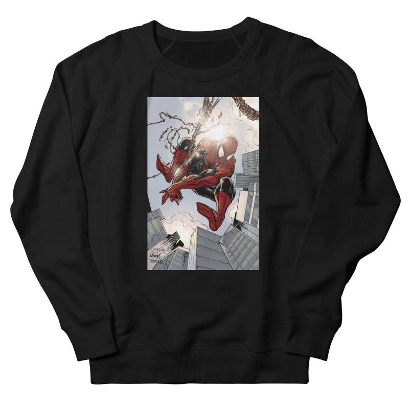 Spiderman Web Swinging Men's Sweatshirt by Evolution Comics INC