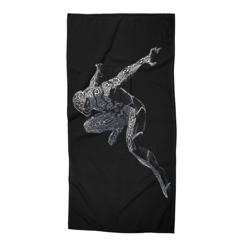 Future Foundation Spiderman Accessories Beach Towel by EvoComicsInc's Artist Shop