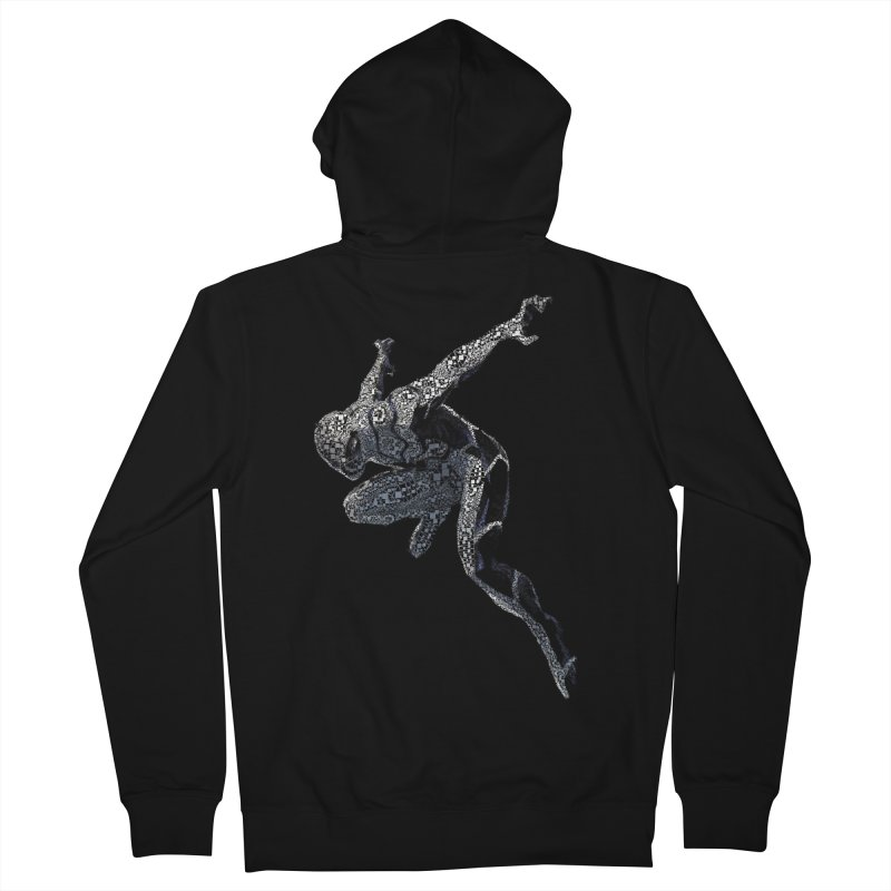 Future Foundation Spiderman Men's French Terry Zip-Up Hoody by EvoComicsInc's Artist Shop