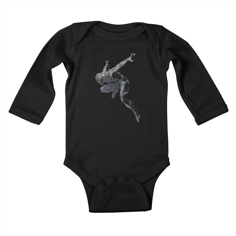 Future Foundation Spiderman Kids Baby Longsleeve Bodysuit by Evolution Comics INC