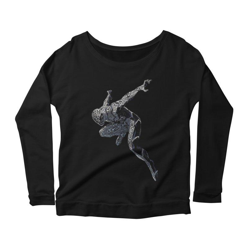 Future Foundation Spiderman Women's Scoop Neck Longsleeve T-Shirt by EvoComicsInc's Artist Shop