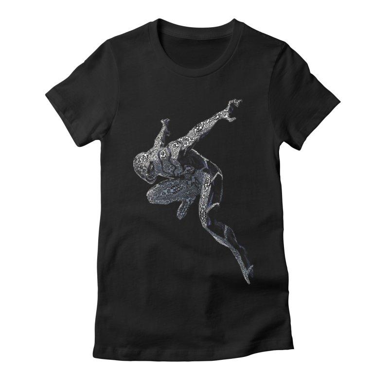 Future Foundation Spiderman Women's Fitted T-Shirt by EvoComicsInc's Artist Shop