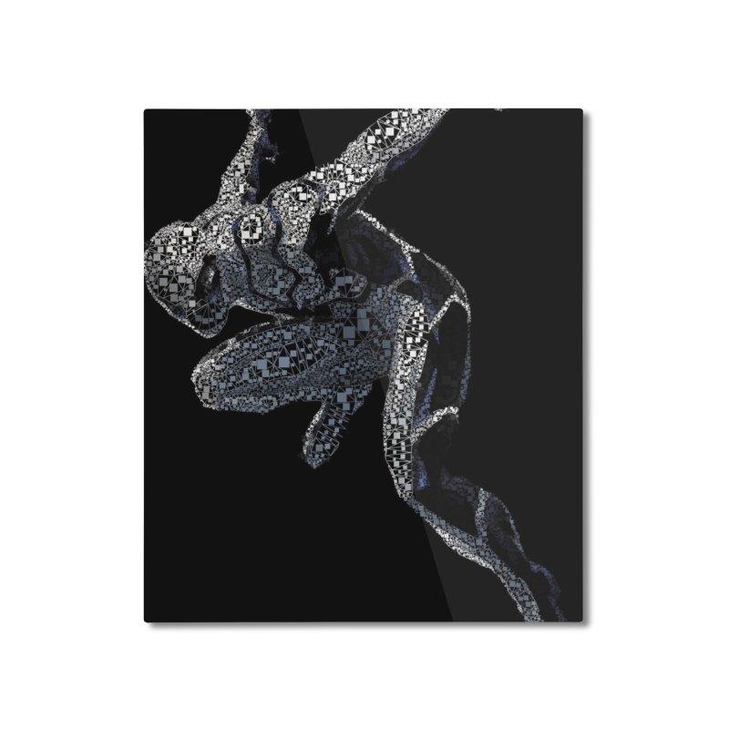 Future Foundation Spiderman Home Mounted Aluminum Print by EvoComicsInc's Artist Shop