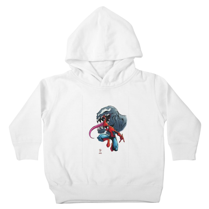 Spiderman w/Venom Kids Toddler Pullover Hoody by Evolution Comics INC
