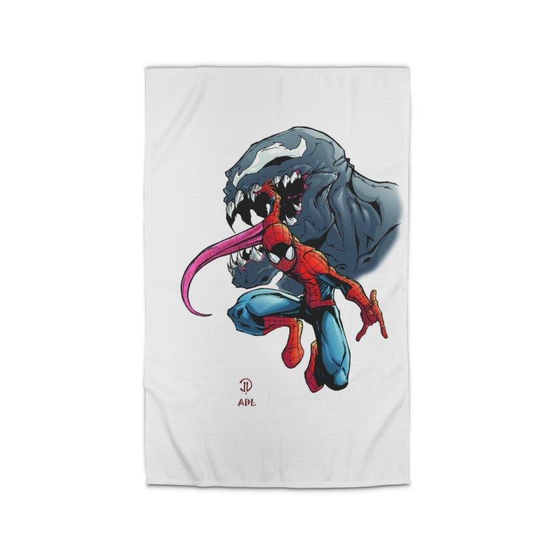 Spiderman w/Venom Home Rug by Evolution Comics INC