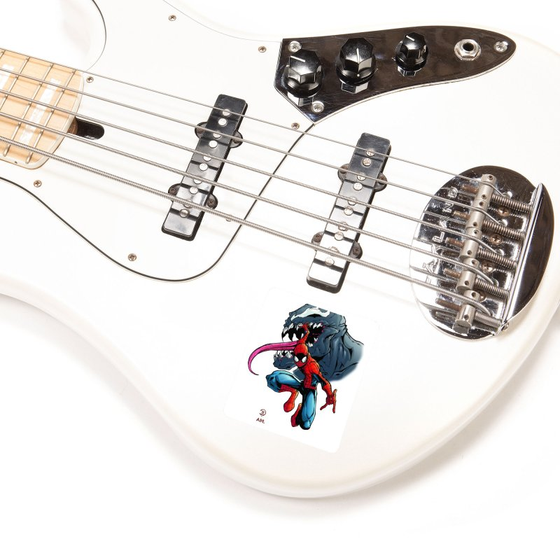 Spiderman w/Venom Accessories Sticker by Evolution Comics INC