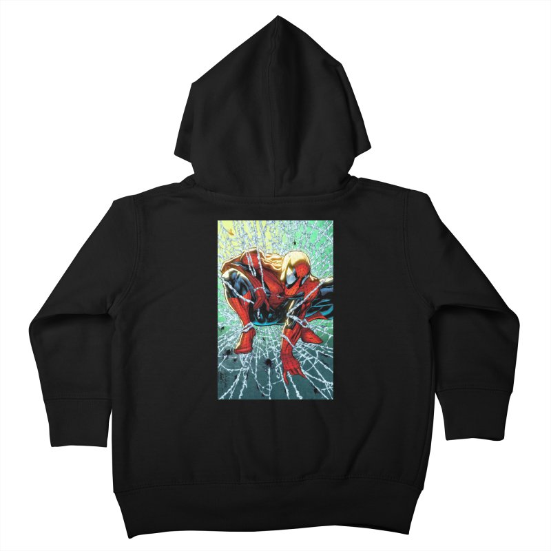 Spiderman Webbing Kids Toddler Zip-Up Hoody by Evolution Comics INC