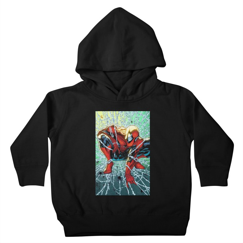 Spiderman Webbing Kids Toddler Pullover Hoody by Evolution Comics INC