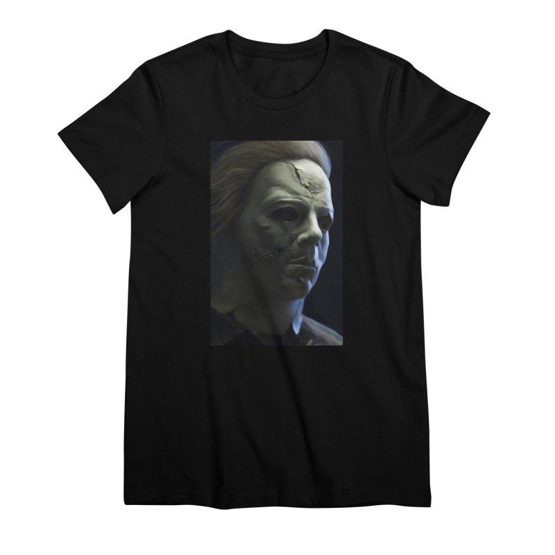 Michael Myers Women's Premium T-Shirt by EvoComicsInc's Artist Shop