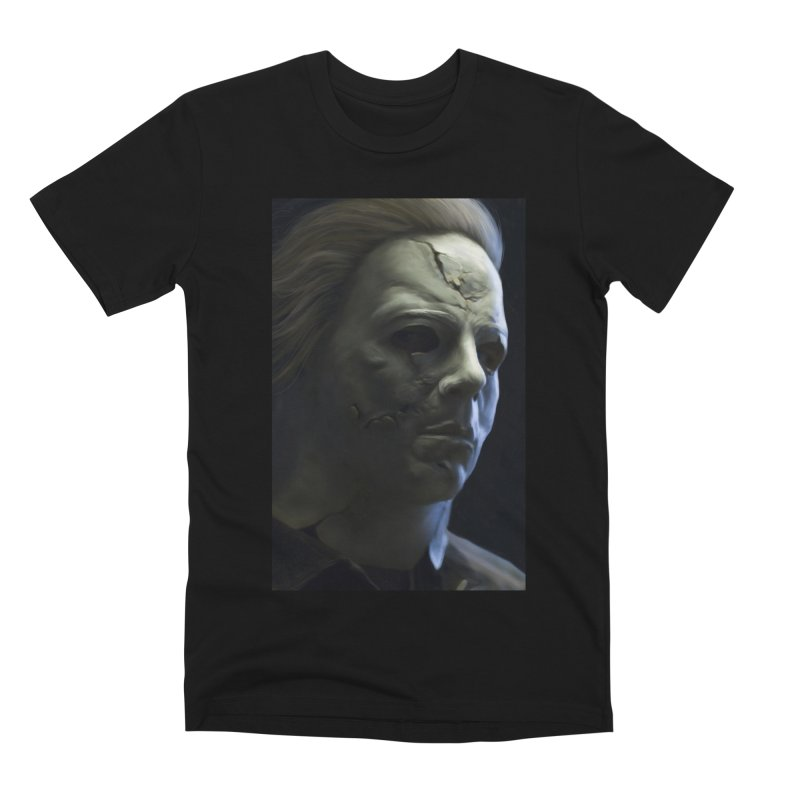 Michael Myers Men's Premium T-Shirt by EvoComicsInc's Artist Shop