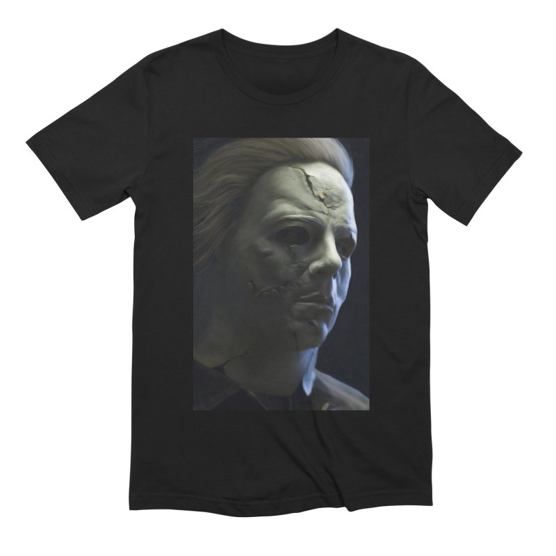 Michael Myers Men's Extra Soft T-Shirt by EvoComicsInc's Artist Shop