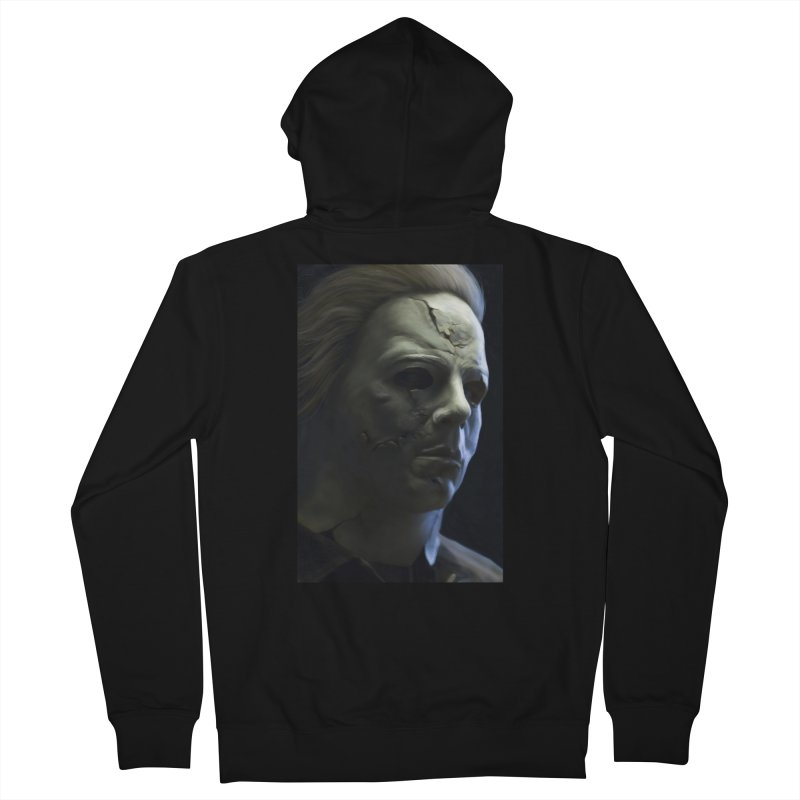 Michael Myers Men's Zip-Up Hoody by Evolution Comics INC
