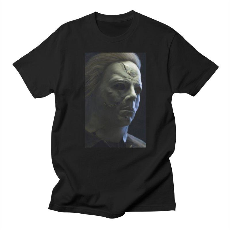 Michael Myers Men's T-Shirt by Evolution Comics INC