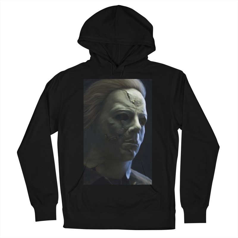Michael Myers Men's French Terry Pullover Hoody by EvoComicsInc's Artist Shop