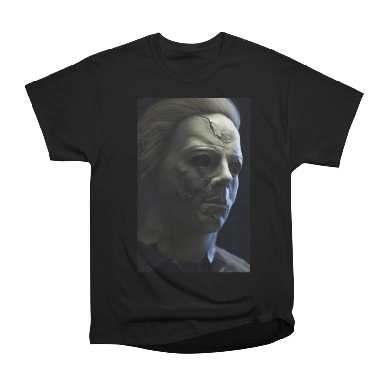 Michael Myers Men's Heavyweight T-Shirt by EvoComicsInc's Artist Shop