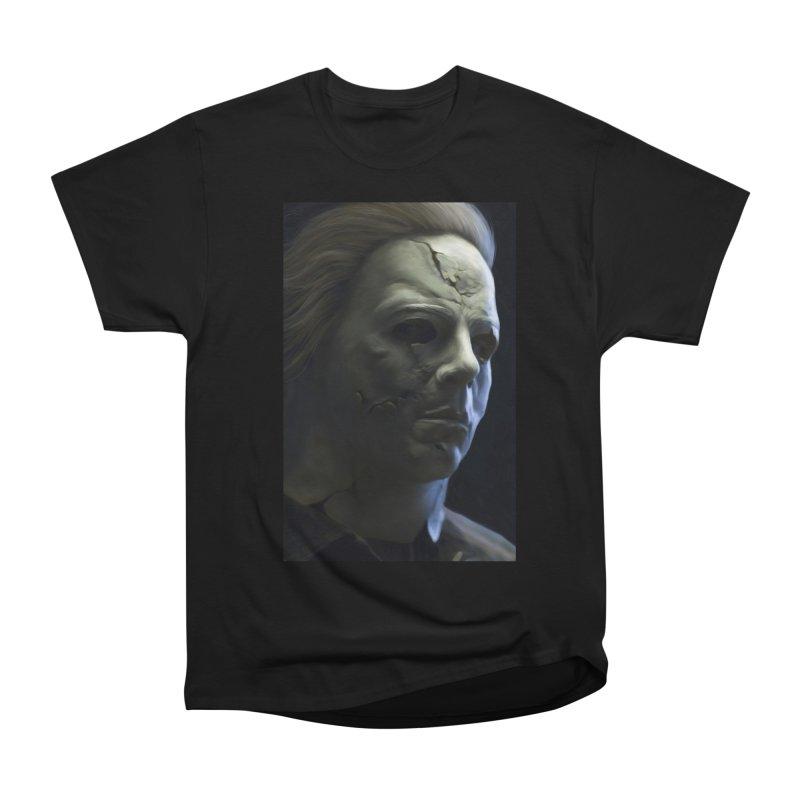 Michael Myers Women's Heavyweight Unisex T-Shirt by EvoComicsInc's Artist Shop