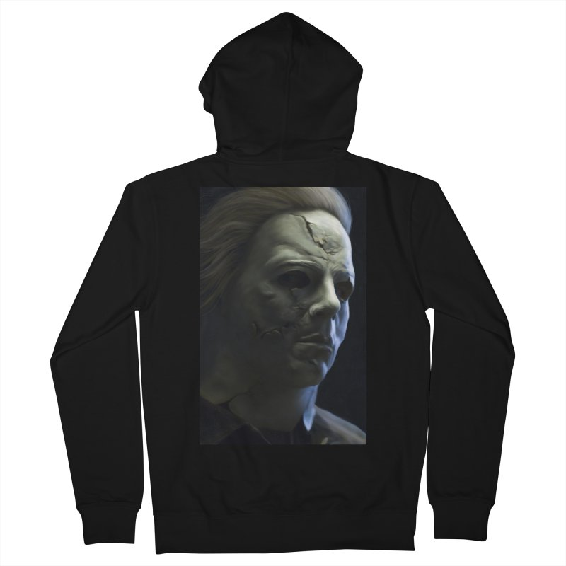 Michael Myers Women's French Terry Zip-Up Hoody by EvoComicsInc's Artist Shop