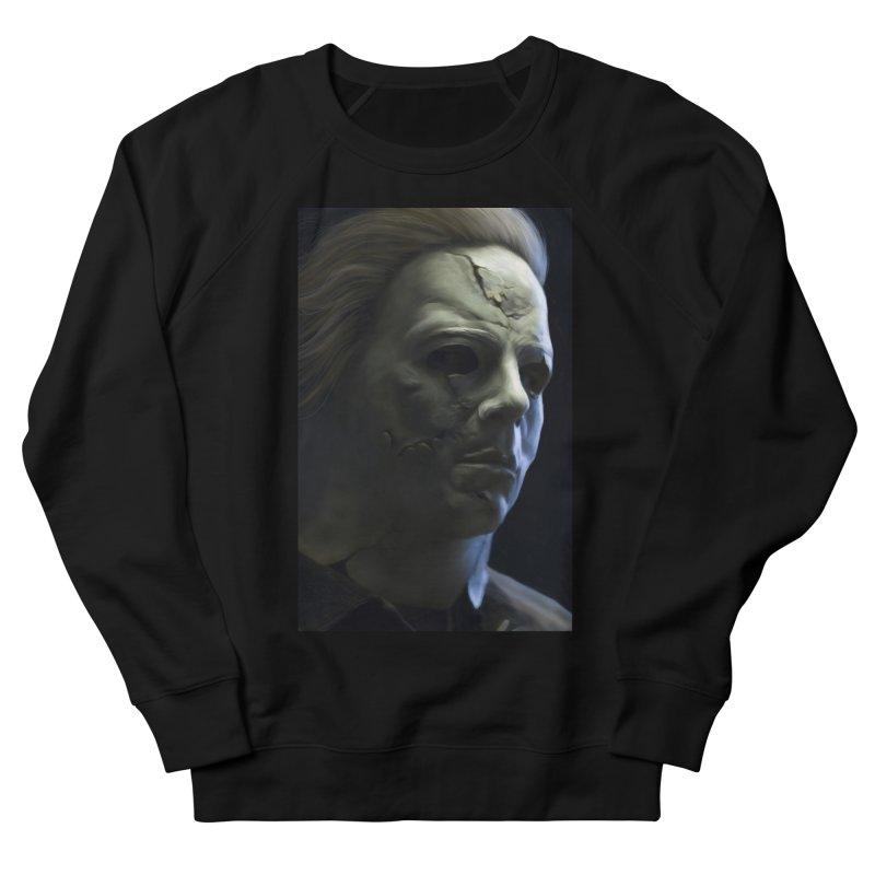 Michael Myers Men's French Terry Sweatshirt by EvoComicsInc's Artist Shop