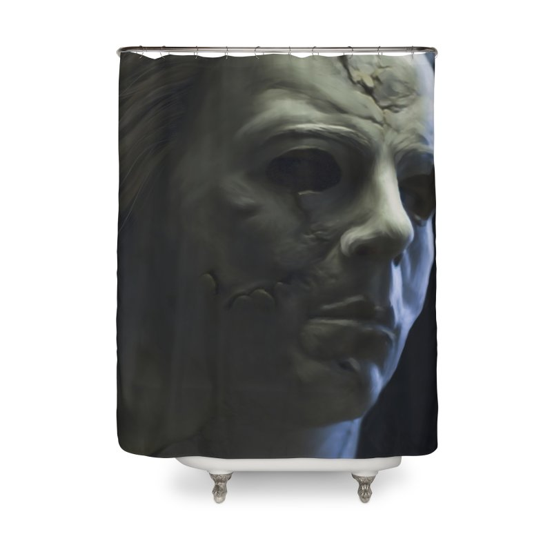 Michael Myers Home Shower Curtain by Evolution Comics INC