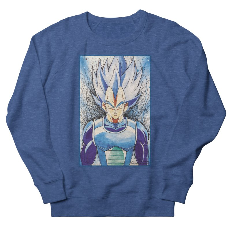 Vegeta Super Saiyan Blue Men's Sweatshirt by Evolution Comics INC